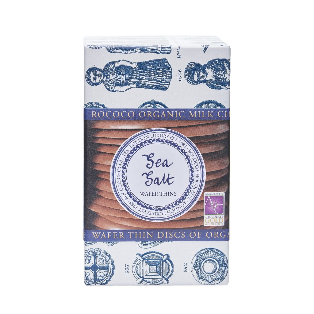 Organic Chocolate Thins Sea Salt